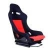 """Krēsls """"GTR"""", melns/sarkans"""